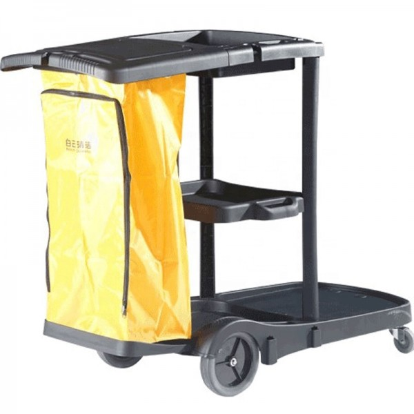 Cart: Janitor Cart with Cover