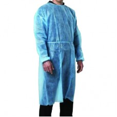 Disposable Isolation Gown - Medium Blue (5/pkt)