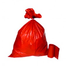 Bin Liners: Red Infection Control Bags (25/pkt)