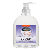 E-Vap Hand Sanitiser 500ml Pump Pot