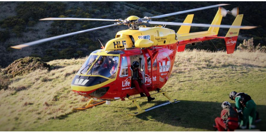 QualChem donate cleaning chemicals to Life Flight