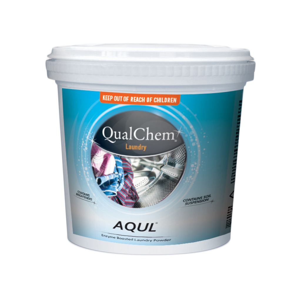 Aqul Laundry Powder 10kg Qualchem