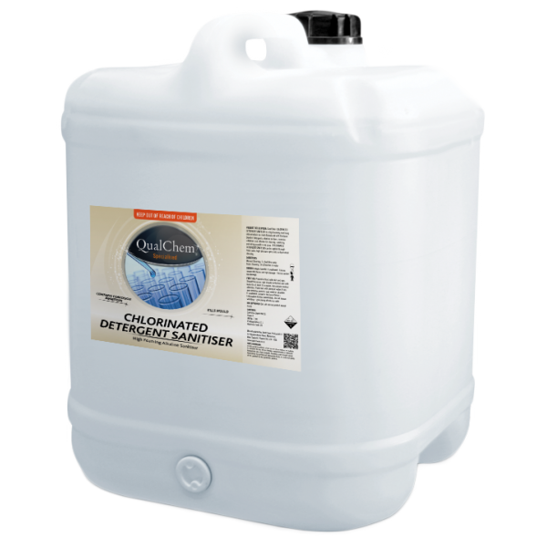 Chlorinated Detergent Sanitiser 20L