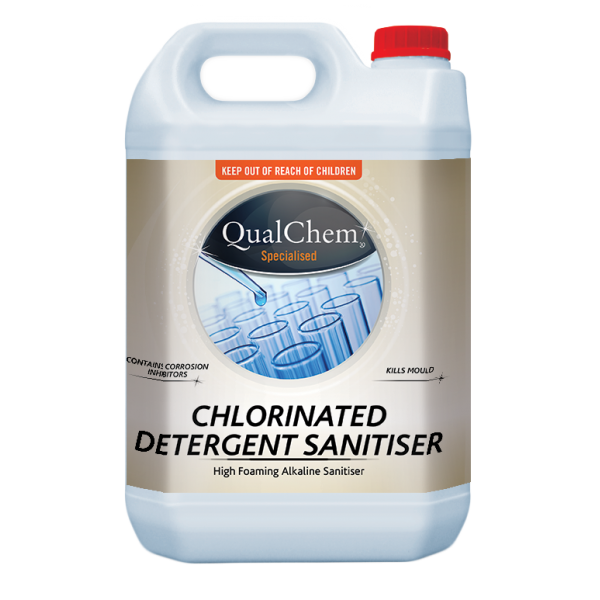 Chlorinated Detergent Sanitiser 5L