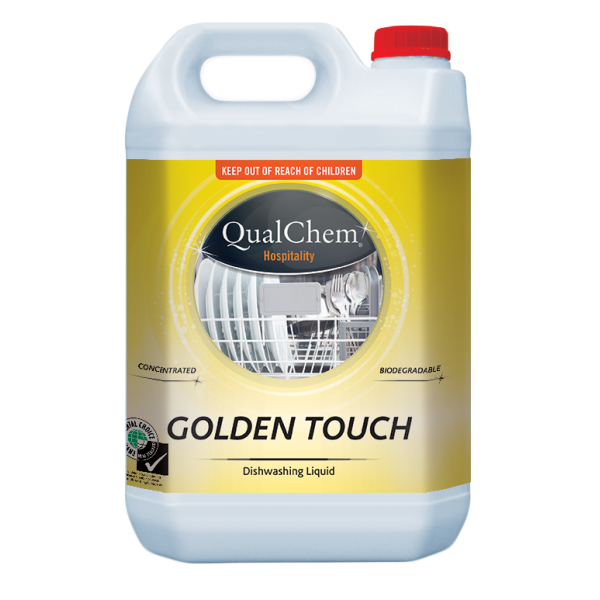 Golden Touch Dish Liquid QC 5L