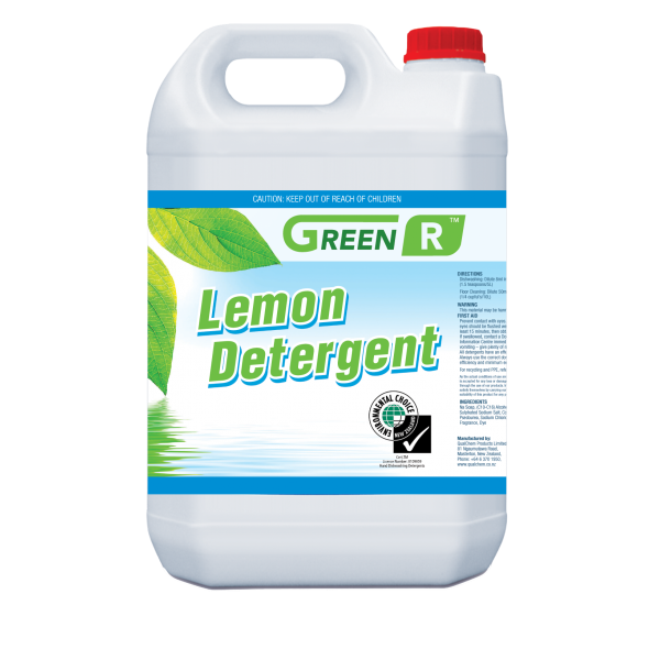 Green'R Lemon Detergent 5L