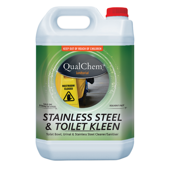 Stainless Steel & Toilet Kleen 5L